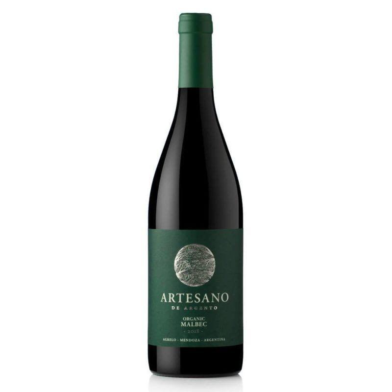 Artesano de Argento Organic Malbec Organico Vino Caja Bodega ArgentoVinos Online Vinos en promoción