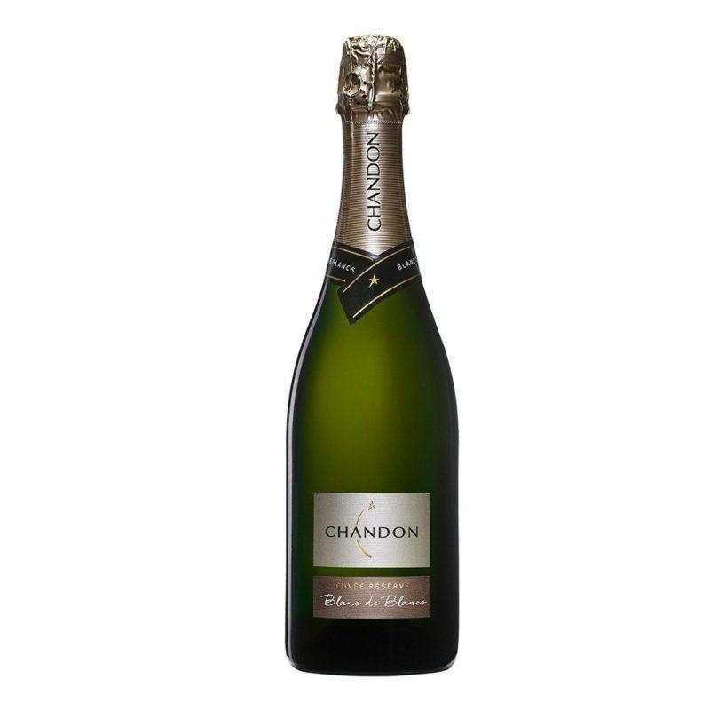 Chandon Cuvée Réserve Blanc de Blancs Chardonnay Caja Espumante Vino Espumoso Champagne Vinoteca Vinos Online Vinos en promoción