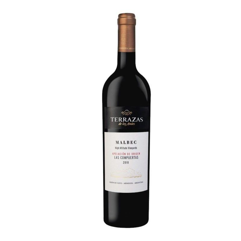 Terrazas de los Andes Apelación Las Compuertas Malbec Vinos Caja Vinoteca Vinos Online Vinos en promoción