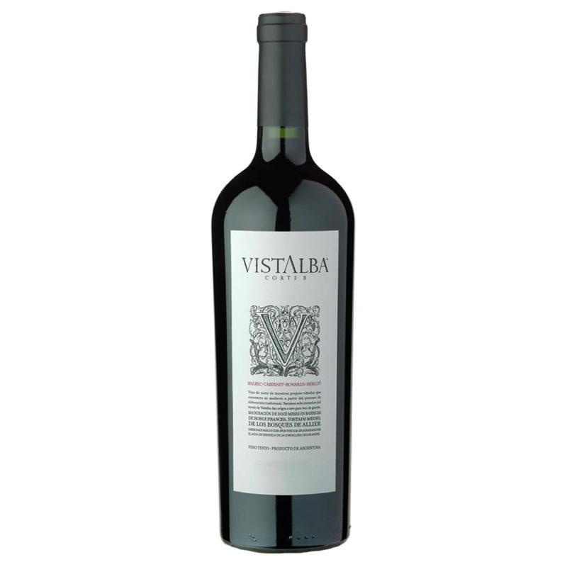 Vistalba Corte B Malbec Cabernet Bonarda Vinos Online Caja Argentina