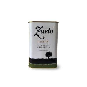 Aceite de Oliva Zuelo Clásico Lata Caja Familia Zuccardi