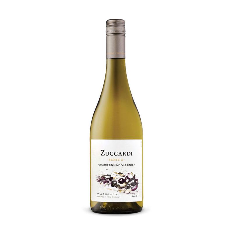 Vino Zuccardi Serie A Chardonnay Viognier Caja Familia Zuccardi Valle de Uco Vino Blanco Cajas de Vino en oferta Envio grátis
