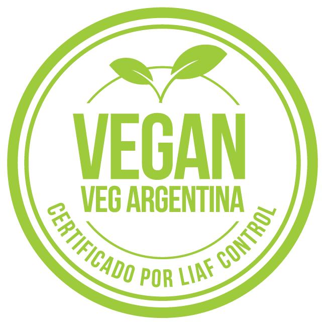 Sello Vegano Argentina VEGAN Veg Argentina Liaf Control